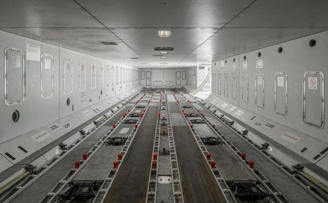A380 cargo 1. Foto Hi Fly