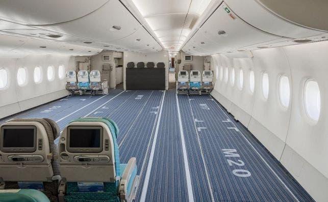 A380 cargo 3. Foto Hi Fly