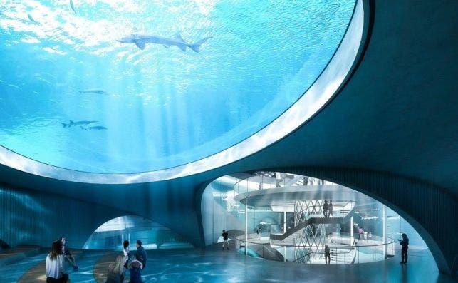 acuario shanghai 6 Foto Ennead Architects