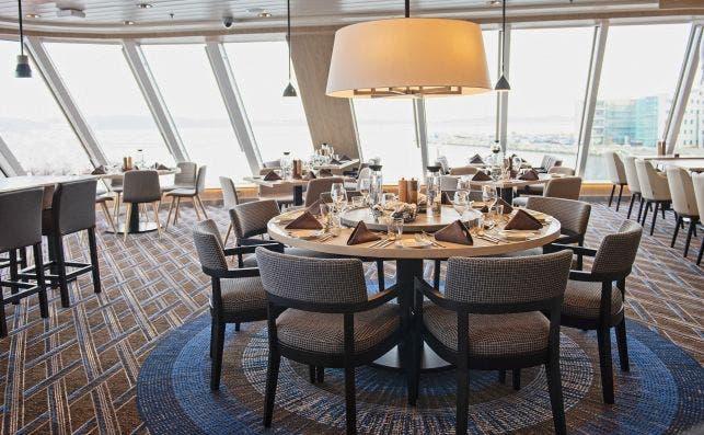 Restaurante Aune. Foto Agurtxane Concellon | Hurtigruten.