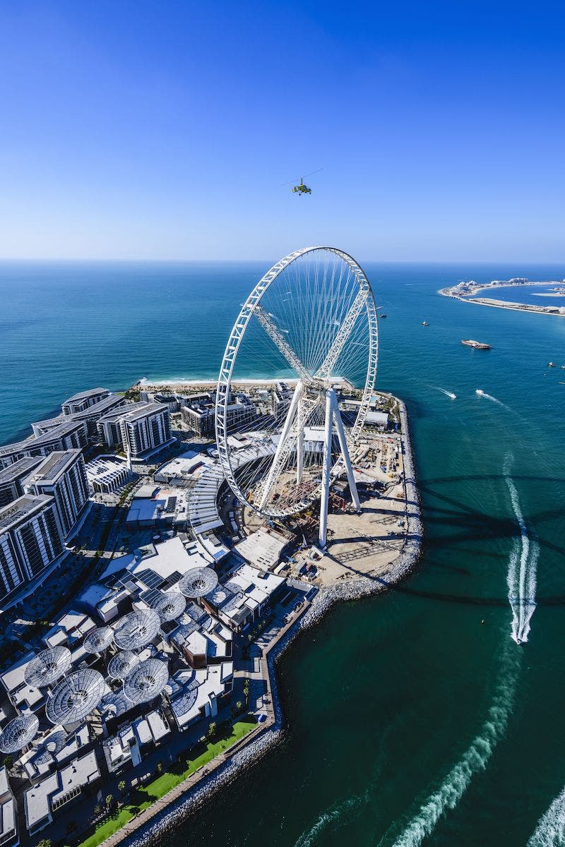 Ain Dubai. Foto Turismo de Dubái.