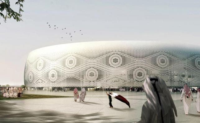 Al Thumama Foto Fenwick Iribarren Architects