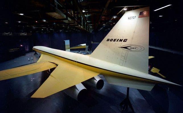 Alas batibles del B2707 Foto Boeing