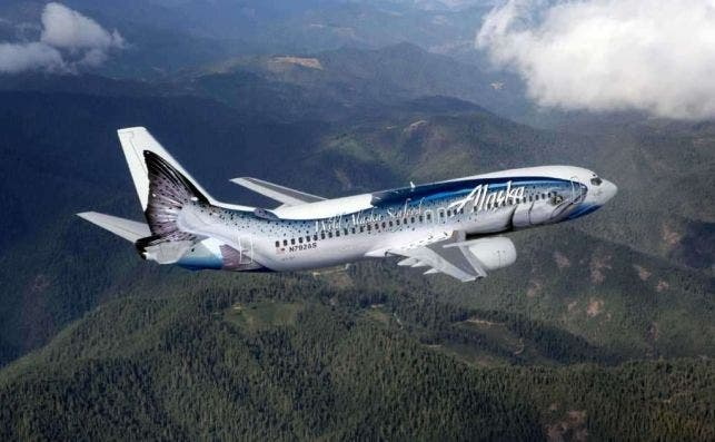 Alaska Airlines salmon
