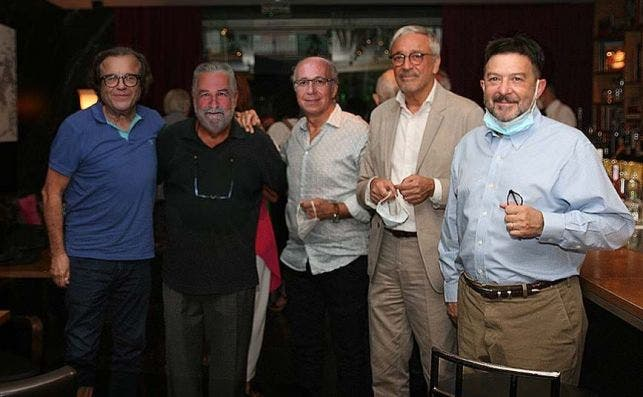 Albert Arbós, Rafel Nadal, Javier de las Muelas, Xavier Melero y Albert Montagut. Foto: Marta Calvo