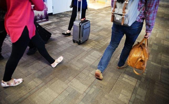 alfombra aeropuerto