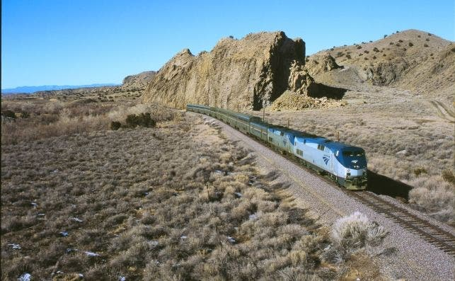 Amtrak explota hoy rutas sobre el antiguo trazado. Foto: Martin Matlack | Amtrak.