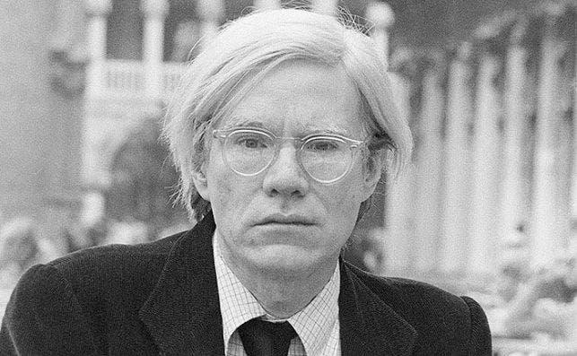 Andy Warhol Foto Caffè Florian