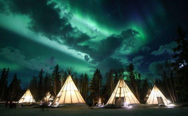 Aurora Village Yellowknife.