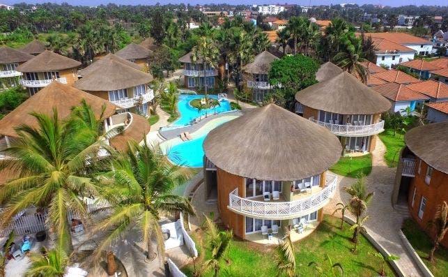 Balafon Beach Resort, Gambia.