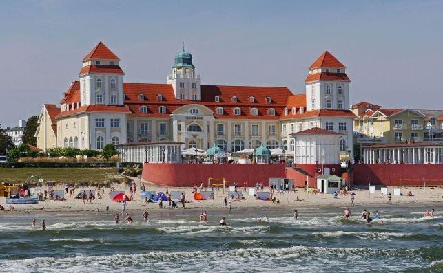 Balneario de Binz, en la ilsa de Rügen. Foto Erich Westendarp Pixabay