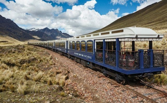 Exterior del Belmond Andean Explorer.
