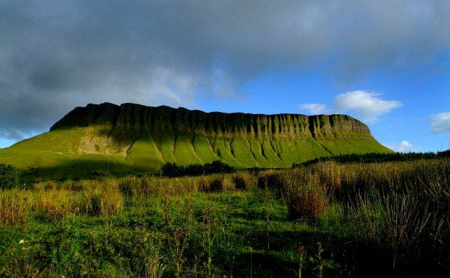 Benbulben. Foto: Turismo de Irlanda.