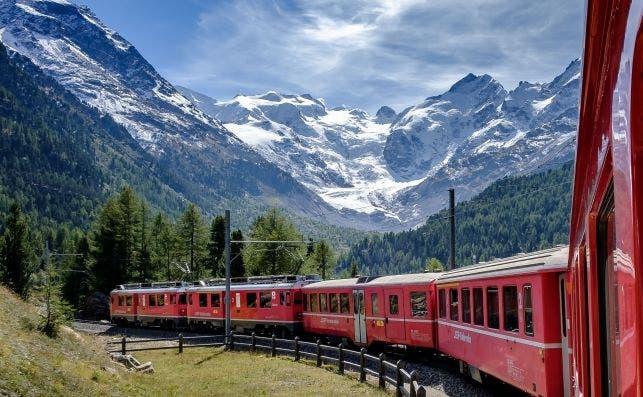 Bernina Express. Foto: Andreas Stutz Unsplash.