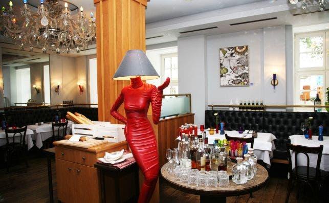 BistroÌ franceÌs en el Hotel Taschenbergpalais. Foto: Manena Munar.