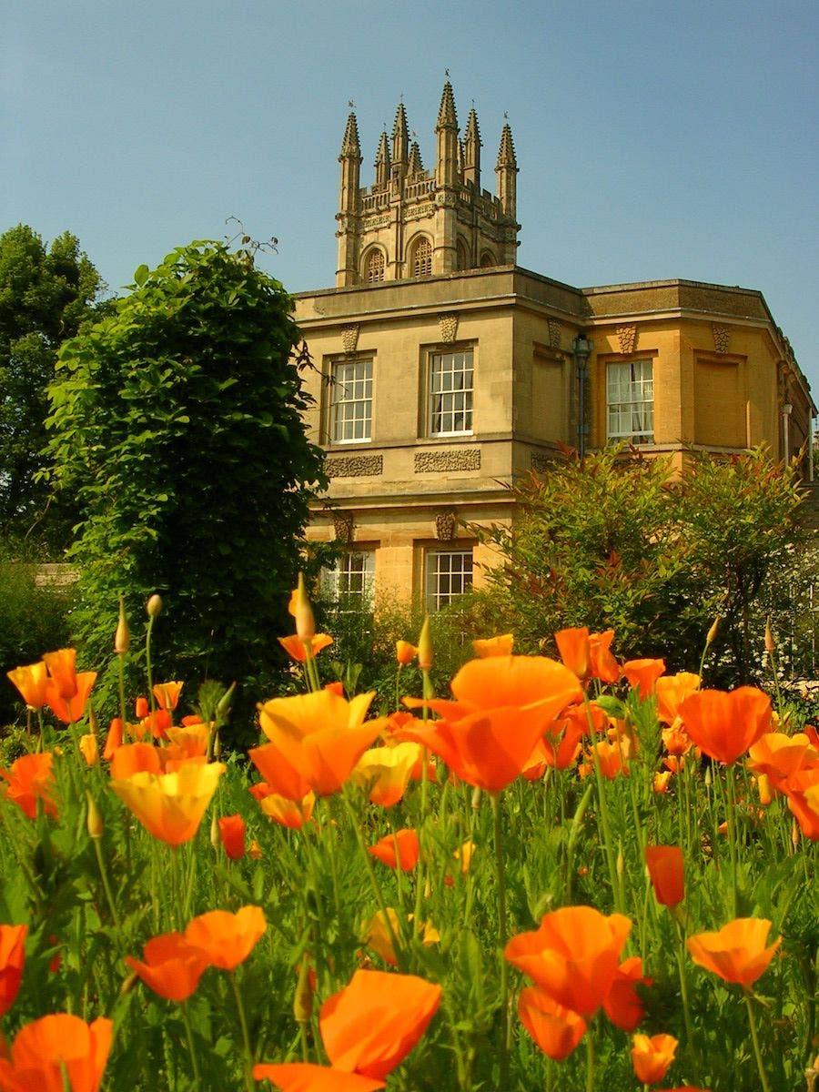 Botanical Gardens, Oxford. Foto Wikimedia Commons.