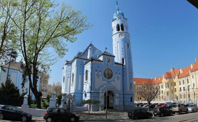 bratislava igelsia azul