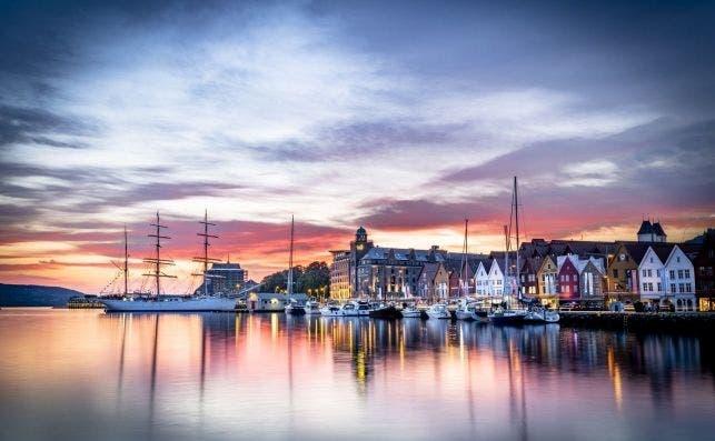 Bryggen i Bergen 0001 1500