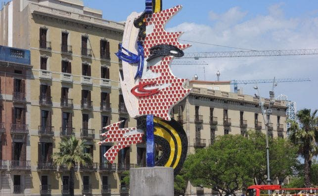 Cabeza de Barcelona Foto Ajay Goyal Flickr