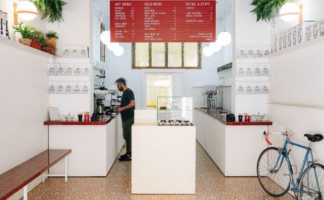 Cafe gourmet Local de Nomad Foto Nomad