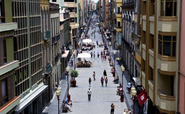 Calle Mayor de Triana. Foto LPAVisit