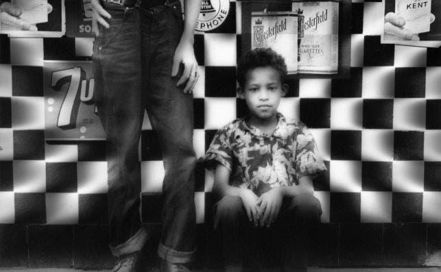 Candy Store, Amsterdam Avenue, New York 1954. Foto William Klein.
