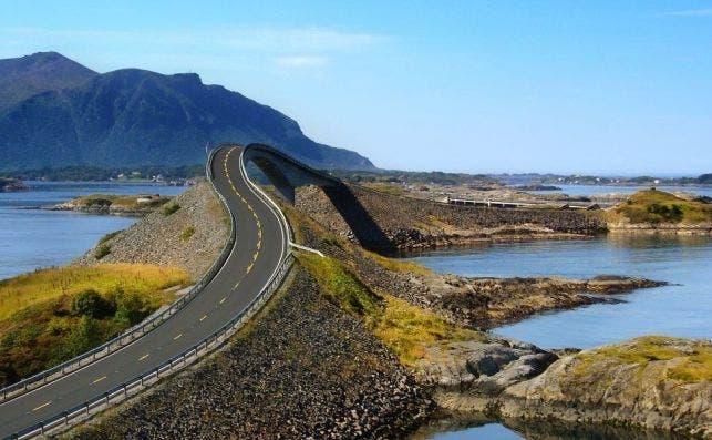 Carretera del Atlántico. Foto Pinterest.