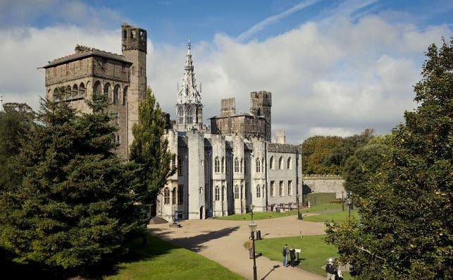 Castillo de Cardiff. Foto VisitBritain.