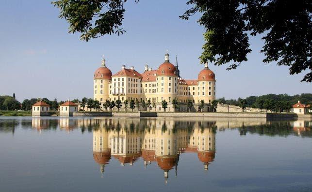 Castillo de Moritzburg. Foto Greg Montani Pixabay