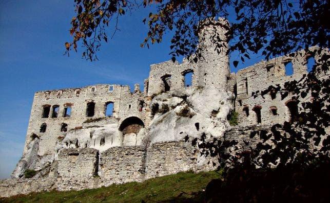 Castillo de Ogrodzieniec. Foto Pixabay