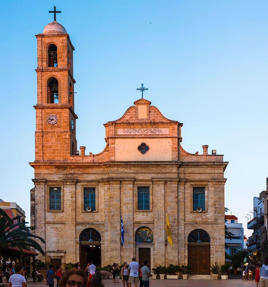 Catedral de Chania. Foto Diego Herranz.