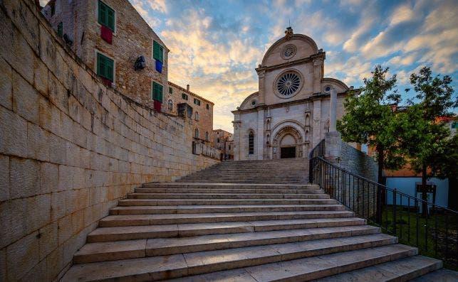 Catedral de Santiago en Sibenik. Foto Getty Images.