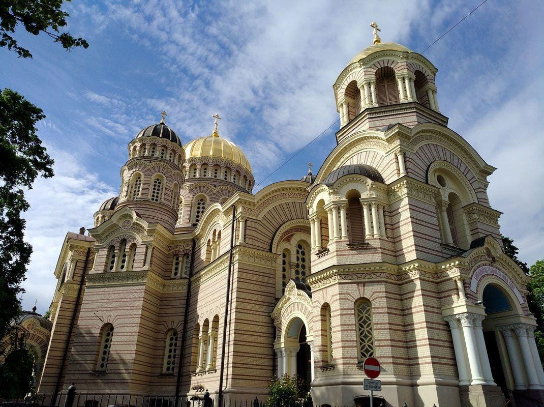 Catedral ortodoxa de Riga. Foto: Sergio Cabrera.