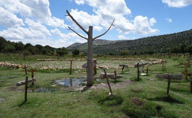 Cementerio Sad Hill. Turismo de Burgos