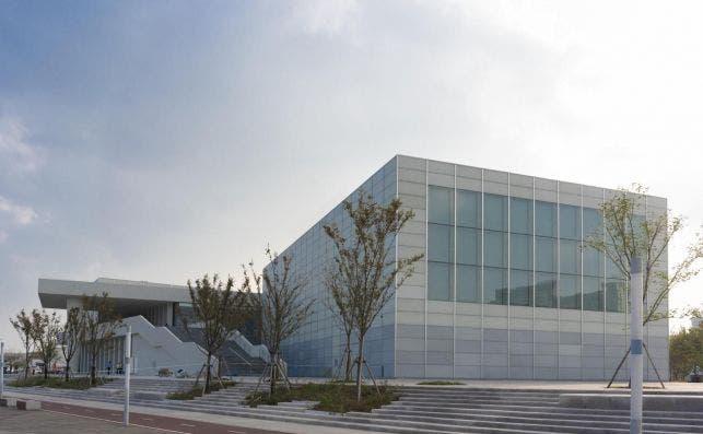 Centre Pompidou Shanghai. Foto Aki | West Bund Museum.