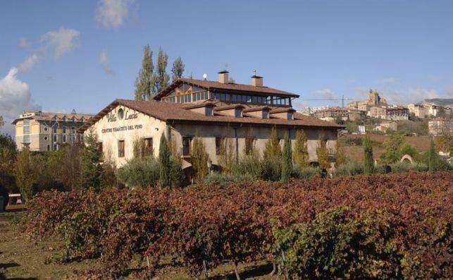 Centro Temático del vino Villa Lucía. Laguardia.