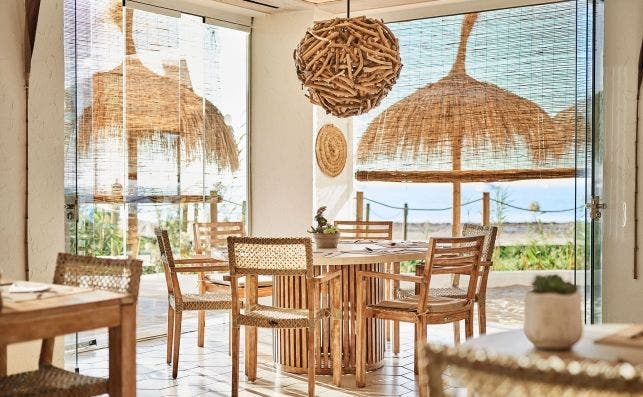 Chambao interior. Foto Nobu Hotel Ibiza Bay.