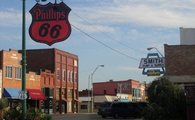 Chandler, Oklahoma USA   Historic Route 66   panoramio