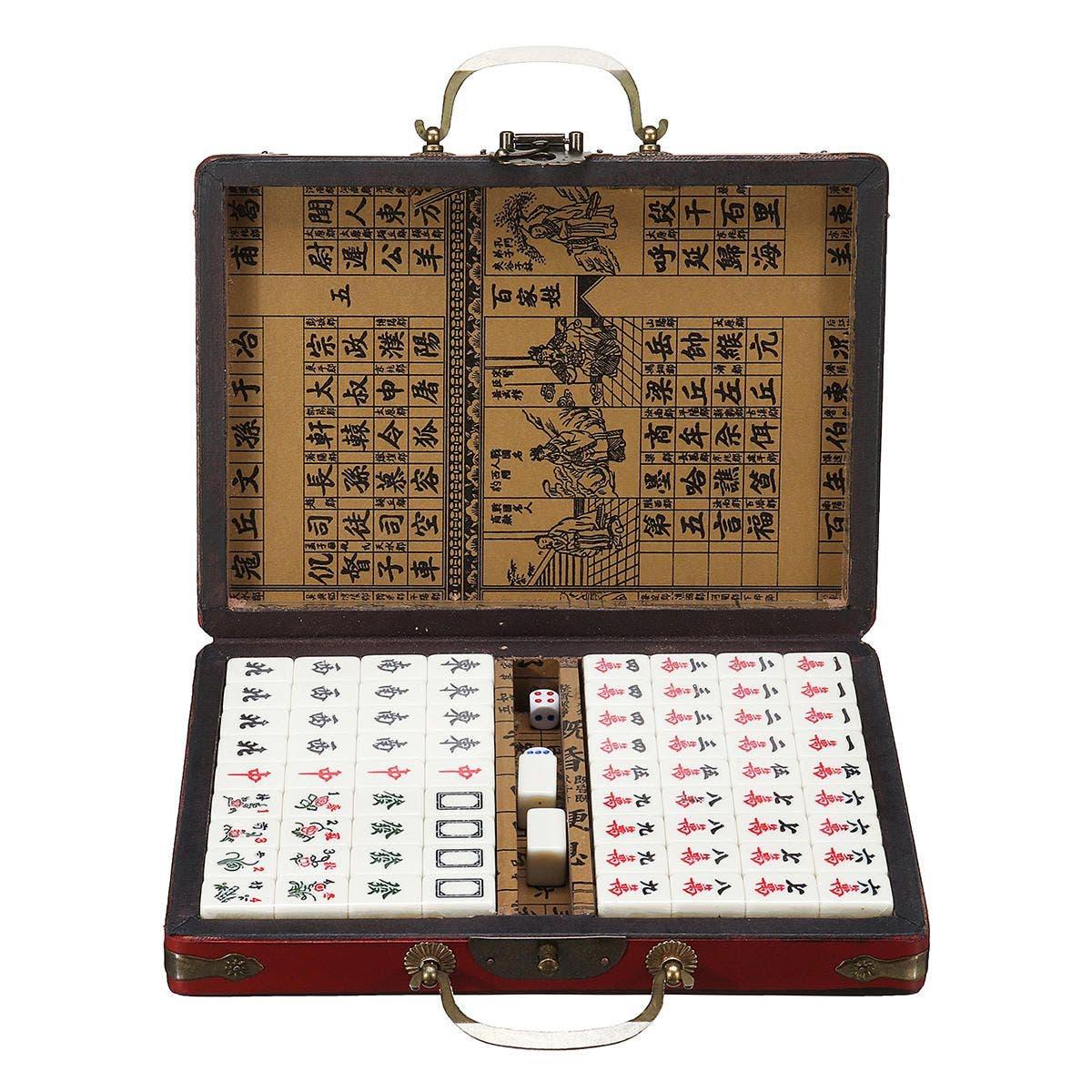 Mahjong artesano. Foto: Banggood.