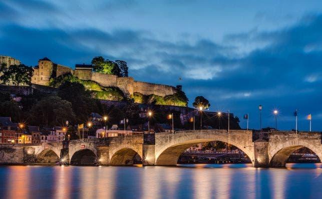 Ciudadela de Namur. Foto: Anibal Trejo | Turismo de Valonia.