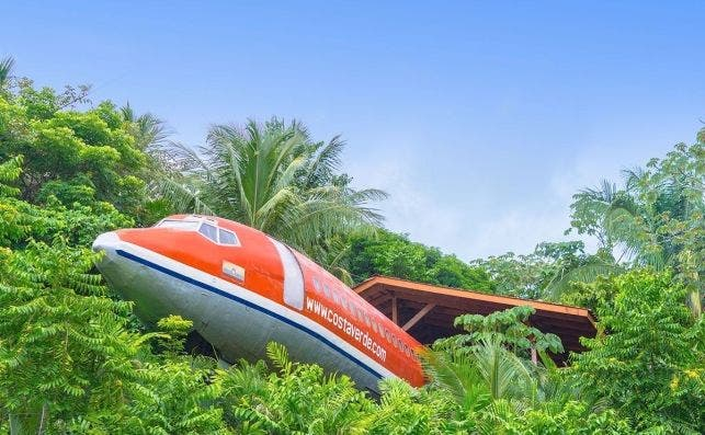 Costa Verde Fuselage Home 727 Costa Rica Jungle landings