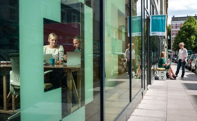 Coworking Betahaus. Foto Christian O. Bruch Turismo de Hamburgo.
