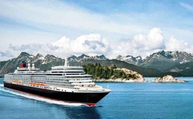 Cunard operará este año por primera vez en Alaska.