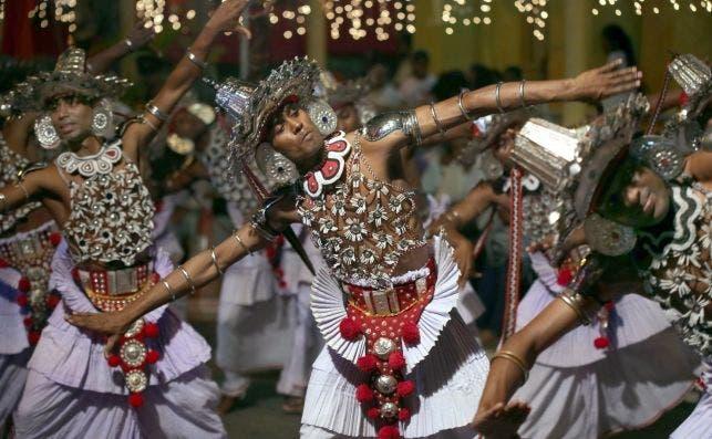 Danza Kandyan. Foto M.A.Pushpa Kumara EFE EPA.