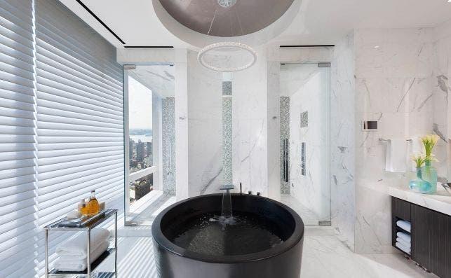 Detalle Suite 5000 Mandarin Oriental Nueva York.