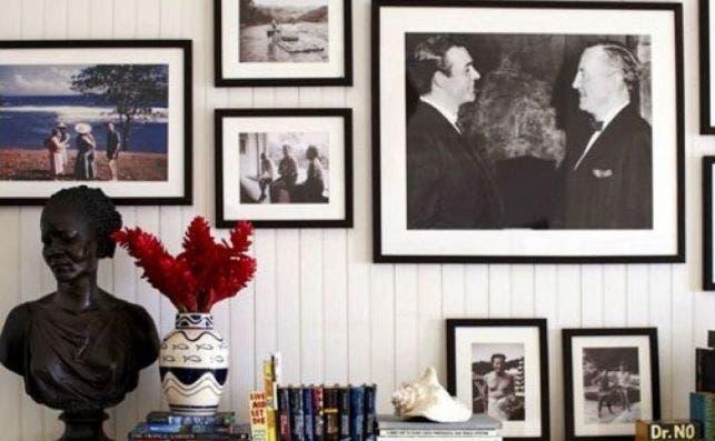 Detalles que recuerdan al creador de James Bond. Foto: Homeaway.