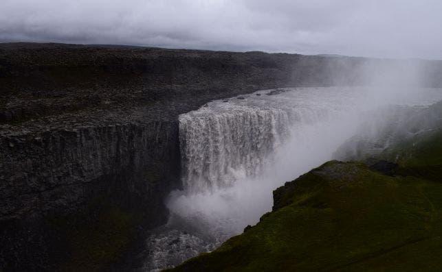 Cascada de Dettifoss, en Islandia. / Paula Arandia