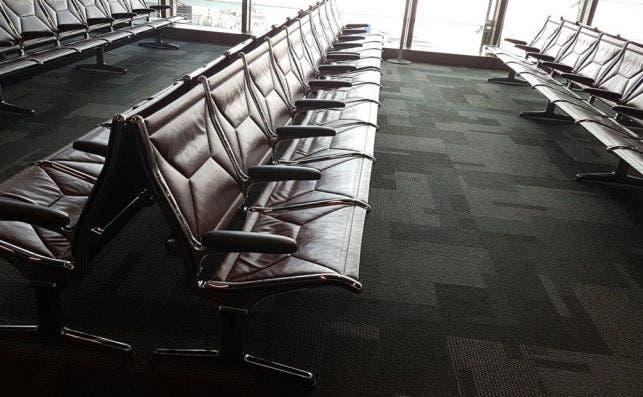 Doah airport seats