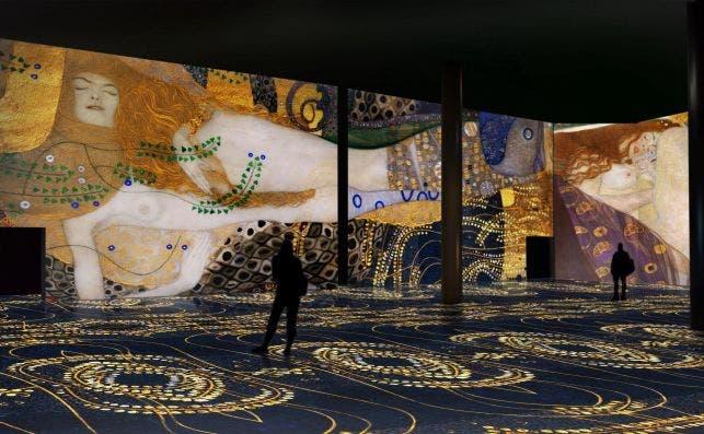 El Oro de Klimt. Foto: Nomad Art.