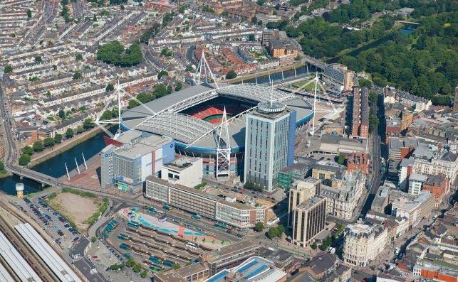 Estadio Principality, Cardiff. Foto VisitBritain.